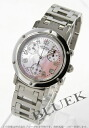 Hermes Clipper acre chronograph pink shell Womens CL1.310.214/3872