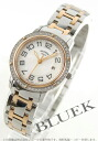 HERMES clipper PG combination diamond bezel white shell Lady's CP1.322.212/4967