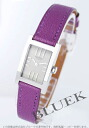 HERMES tandem leather purple / silver Lady's TA1.210.280/OCY M2