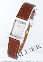 HERMES tandem leather brown / silver Lady's TA1.210.280/OO30 M2