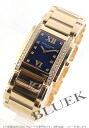 Rakuten Japan sale ★ Patek Philippe twenty 4 RG pure gold diamond Blue Ladies 4910 / 11R-012