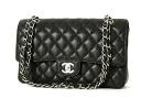 CHANEL CHANEL matelasse line caviar skin shoulder bag black A1112