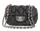 CHANEL CHANEL quilting shoulder bag black A48470