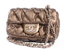 Chanel CHANEL quilted shoulder bag gold A48470