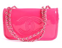 Chanel CHANEL cruise line Coco make enamel bag hot pink A49863
