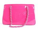 Chanel CHANEL Coco make enamel bag hot pink A49868