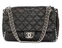 Chanel CHANEL cruise line quilting soft Cafe shoulder bag black A49915