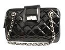 Chanel CHANEL 2.55 series enamel shoulder bag black A50296