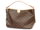 Louis Vuitton LOUIS VUITTON monogram D light full PM shoulder bag dark brown M40352