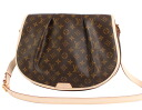 Louis Vuitton LOUIS VUITTON Monogram Menil Montant MM shoulder bag dark brown M40473