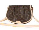 Louis Vuitton LOUIS VUITTON Monogram Menil Montant PM shoulder bag dark brown M40474