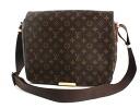 Louis Vuitton LOUIS VUITTON Monogram Valmy MM shoulder bag dark brown M40523