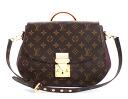Louis Vuitton monogram Eden MM shoulder bag dark brown & Bordeaux M40581