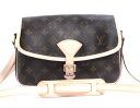Louis Vuitton LOUIS VUITTON Monogram Sologne shoulder bag dark brown M42250