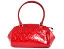 -Louis Vuitton LOUIS VUITTON Monogram Vernis Sherwood PM shoulder bag Pomme d'amour M91494