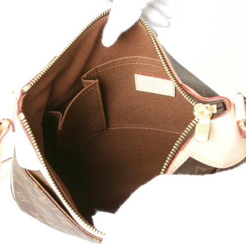 【2009年新作】ルイヴィトンモノグラムオデオンPMショルダーバッグダークブラウンM56390