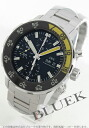 IWC aquatimer automatic chronograph black mens IW376708