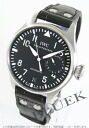 IWC big pilot automatic black co-leather black men IW500401