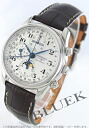 Rakuten Japan sale ★ Longines master collection automatic chronograph Moonphase Brown / silver mens L2.673.4.78.3