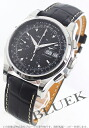 Jin Ron heritage automatic chronograph leather black men L2.747.4.52.4
