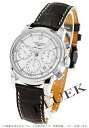 Jin Ron Mie Santi automatic chronograph alligator leather brown / white men L2.752.4.72.2 watch clock