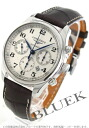 Jin Ron master collection automatic chronograph alligator leather brown / silver men L2.759.4.78.3