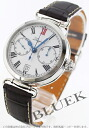 Longines heritage automatic chronograph leather brown / white men's L2.776.4.21.3
