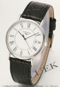 Jin Ron ground classical music date leather black / white long novel men L4.720.4.11.2
