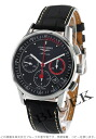 Jin Ron heritage automatic chronograph alligator leather black men L4.754.4.52.4