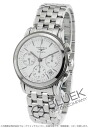 Longines flagship automatic chronograph white mens L4.803.4.12.6 watch clock