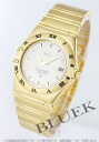 Omega Constellation chronometer 1102.30 YG pure gold silver mens