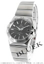 Omega Omega Constellation brushed men's 123.10.35.20.06.001 watch clock