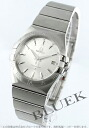 Omega Constellation silver mens 123.10.35.60.02.001