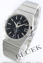 Omega Constellation coaxial chronometer black mens 123.10.38.21.01.001