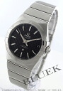 Omega Constellation coaxial chronometer black mens 123.10.38.21.01.002