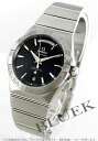 Rakuten Japan sale ★ Omega Constellation day date co-axial chronometer black mens 123.10.38.22.01.001