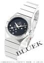 123.15.27.20.01.001 オメガコンステレーションブラッシュダイヤベゼルコーアクシャルオートマチックブラックレディース watch clock
