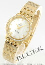 Xmas sale ★ omega devil prestige YG pure gold diamond bezel white shell Lady's 413.55.27.60.05.001