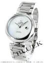425.30.34.20.05.001 オメガデビルレディマティックコーアクシャルクロノメーターホワイトシェルレディース watch clock