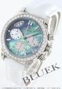 Omega OMEGA Devil diamond pure gold alligator leather ladies 4679.72.36 watch clock