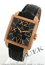 7713.50.31 omega devil Byzantium big date RG pure gold alligator leather black men