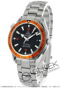 Rakuten Japan sale ★ Omega Seamaster Planet Ocean co-axial 2209.50 chronometer black mens
