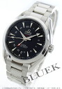 Omega Seamaster Aqua Terra co-axial chronometer GMT black mens 231.10.43.22.01.001