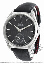Omega Seamaster Aqua Terra XXL chronometer manual mechanical alligator leather black / grey mens 231.13.49.10.06.001