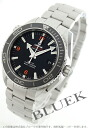 Rakuten Japan sale ★ Omega Seamaster Planet Ocean big size coaxial 600 m waterproof black mens 232.30.46.21.01.003