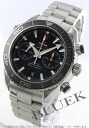 Omega Seamaster Planet Ocean Chrono coaxial 600 m waterproof black mens 232.30.46.51.01.003