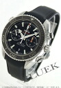 Omega Seamaster Planet Ocean Chrono coaxial 600 m waterproof rubber black mens 232.32.46.51.01.003