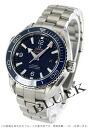 232.90.38.20.03.001 オメガシーマスタープラネットオーシャンチタンコーアクシャル 600m waterproofing blue Lady's watch clock