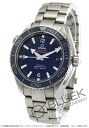 Rakuten Japan sale ★ Omega Seamaster Planet Ocean titanium chronometer automatic blue mens 232.90.46.21.03.001