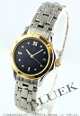 Ladies Omega Seamaster 2481.80 YG Combi blue mini